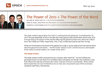 The Power of Zero + The Power of the Word