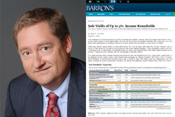 Eric Sappenfield on Barron's Income Roundtable